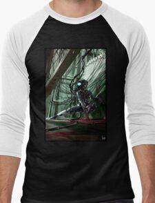 Cyberpunk Photography 056 t-shirt Men's Baseball ¾ T-Shirt
