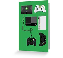 Pixel History - Xbox Greeting Card