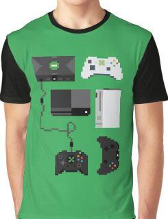 Pixel History - Xbox Graphic T-Shirt