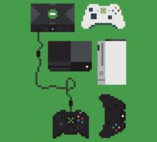 Pixel History - Xbox One Piece - Short Sleeve