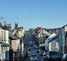 Driving Through Honiton . Devon, UK by lynn carter