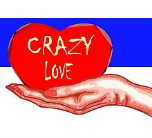 CRAZY LOVE Photographic Print