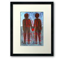 BE MY VALENTINE 8 Framed Print