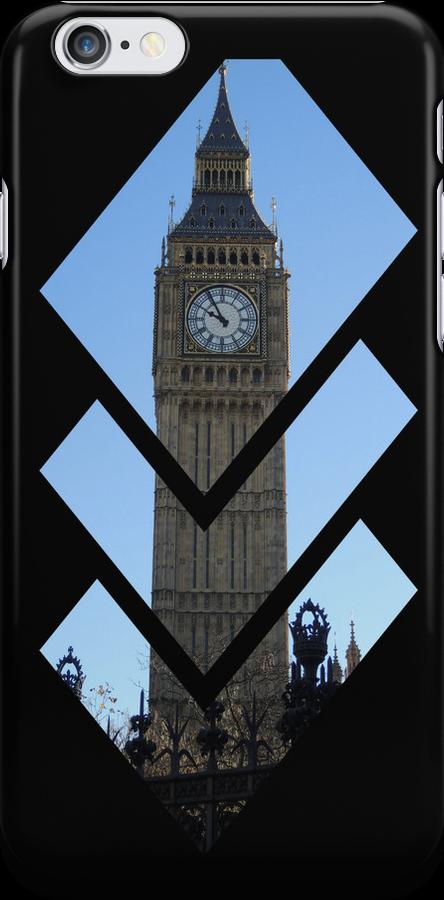 London Big Ben Iphone Case by CreativeEm