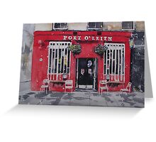Port O' Leith Greeting Card