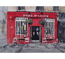 Port O' Leith Photographic Print