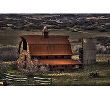 Barn Daze Photographic Print