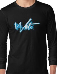 Wet. Powder Blue Edition Long Sleeve T-Shirt