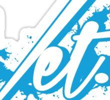 Wet. Powder Blue Edition Sticker