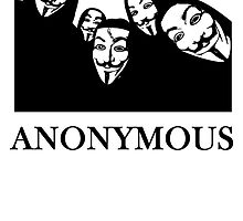 Anonymous Anons In Hoodies by kwg2200