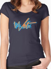 Wet. Bobcat Edition Women's Fitted Scoop T-Shirt