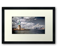 New York, Statue of Liberty Framed Print