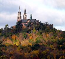 Holy Hill in Autumn by Timothy  Ruf