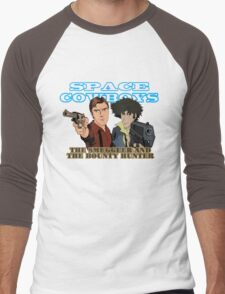 Space Cowboys Spike & Mal Men's Baseball ¾ T-Shirt