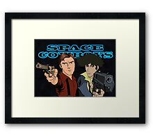 Space Cowboys Spike & Mal Framed Print