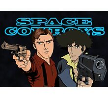 Space Cowboys Spike & Mal Photographic Print