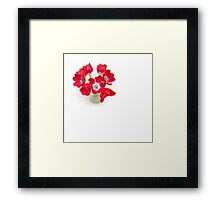 Tulips from Amsterdam.... Framed Print