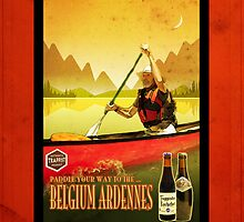 Ipad: Canoeing and Trappist Beers by Steven House