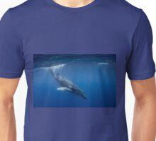 Humpback Whale calf diving, Vava'u, Tonga Unisex T-Shirt