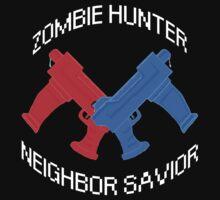Zombie Hunter - Neighbor Savior One Piece - Short Sleeve