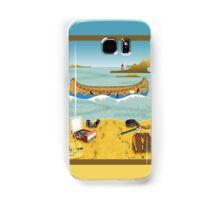 Phone case: Canoeing to Moonrise Kingdom Samsung Galaxy Case/Skin
