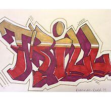 """""""Trill"""" Graffiti Photographic Print"""