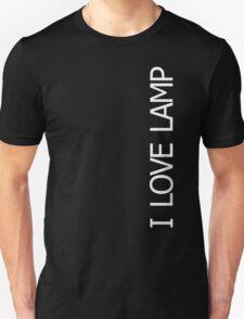 Anchorman: The Legend Of Ron Burgundy - I Love Lamp T-Shirt