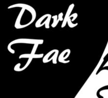 Dark Fae / Light Fae Sticker