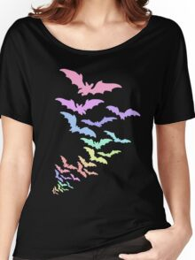 Pastel Bats Women's Relaxed Fit T-Shirt