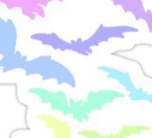 Pastel Bats Sticker