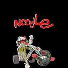 Gorillaz: Noodle (Black) by Verbal72