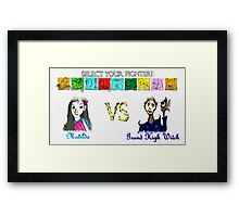 Roald Dahl Fighter Concept Framed Print