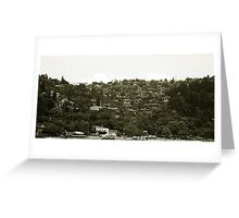 Mountain Houses Greeting Card