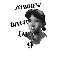 Walking Dead With Clementine Photographic Print