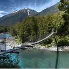 0090 Bullers Gorge Footbridge by DavidsArt