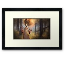 The Meadow Witch Framed Print