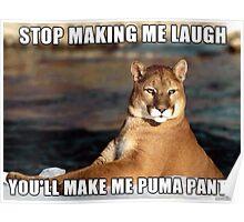 Puma Pants Poster