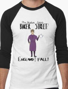 Mrs. Hudson (Dark Colors)  Men's Baseball ¾ T-Shirt