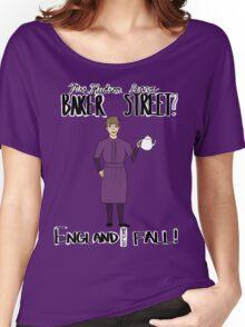 Mrs. Hudson (Dark Colors)  Women's Relaxed Fit T-Shirt