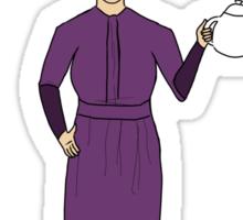 Mrs. Hudson (Dark Colors)  Sticker