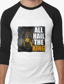 All Hail the King!! Men's Baseball ¾ T-Shirt