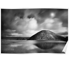 Silbury Hill. Poster