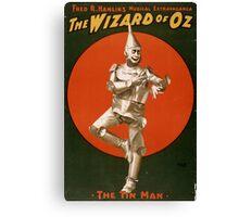 Tin Man - Wizard of Oz Canvas Print