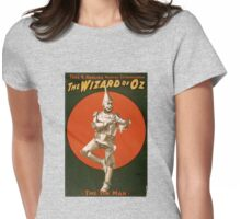 Tin Man - Wizard of Oz Womens Fitted T-Shirt