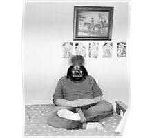 Robert with Darth Vader Mask - 2009 Poster