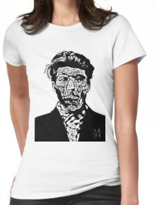 Mr Hammer And Sickle  Womens Fitted T-Shirt