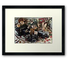 'With a Canon, we did..!' Framed Print