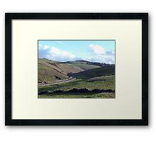 Long Dale Framed Print
