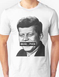 Bear Face JFK Shirt Unisex T-Shirt