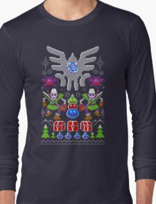 Dragon Quest Ugly Sweater Long Sleeve T-Shirt
